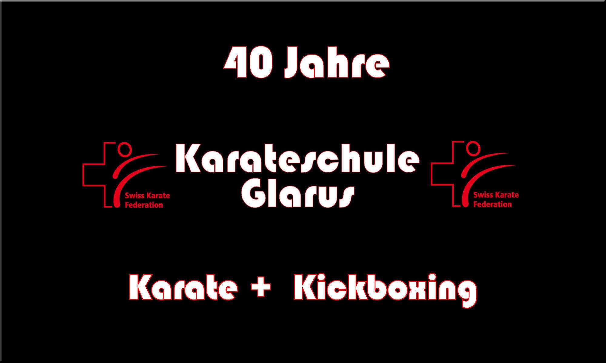 40 Jahre Karateschule Glarus